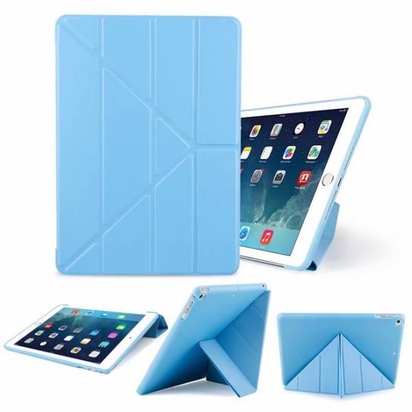 【萌萌噠】Apple iPad 8 10.2吋 (2020) 平板電腦保護套 變形支架 蜂巢散熱矽膠軟殼 平板套 平板殼