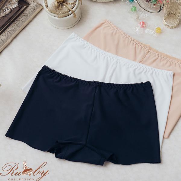 褲子 素色無痕內搭安全褲-Ruby s 露比午茶