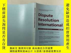 二手書博民逛書店dispute罕見resolution internationa