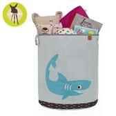 【雙11出清】德國Lassig-玩具收納籃-小鯊魚
