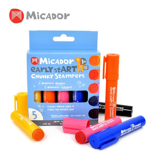 Micador 澳洲 水洗5色印章筆