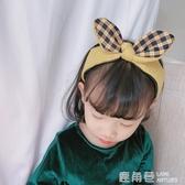 髮箍 秋冬新款兒童髮飾女童兔耳朵髮箍公主百搭小女孩可愛潮妞頭箍 鹿角巷