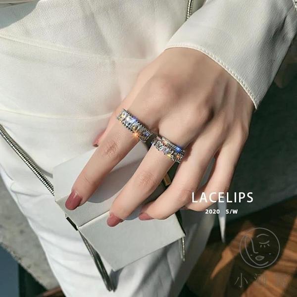 食指指環女簡約高級感戒指風開口戒指【小酒窝服饰】