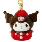 【震撼精品百貨】酷洛米_Kuromi~三麗鷗 酷洛米~造型鑰匙圈/吊飾-草莓造型*24356