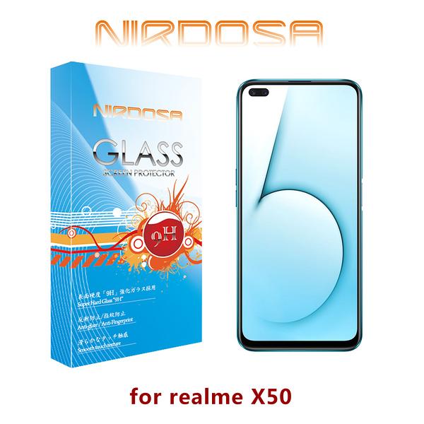 快速出貨 NIRDOSA realme X50 5G 鋼化玻璃 螢幕保護貼