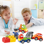 樂高積木玩具寶寶7益智拼裝8汽車1大顆粒2拼插3-6周歲女男孩子 森活雜貨