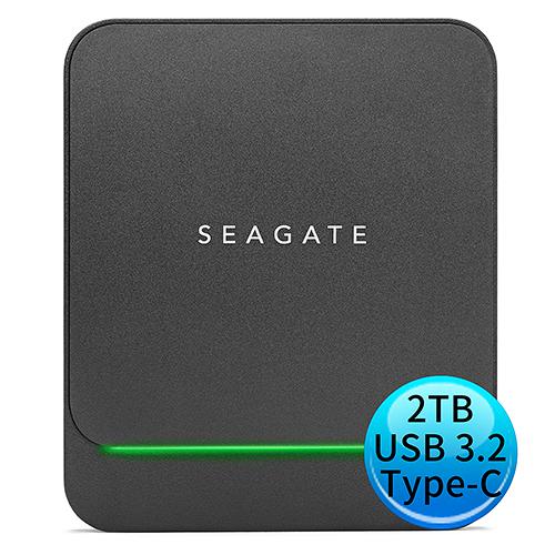 Seagate 希捷 BarraCuda Fast SSD 2TB 外接 固態硬碟 STJM2000400