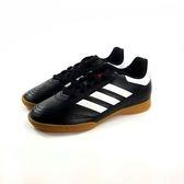 大童款 ADIDASD Goletto VI IN J 黑白 膠底 足球鞋《7+1童鞋》7258 黑色