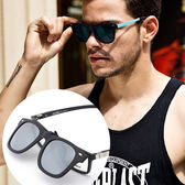 黑框太陽眼鏡夾片 可上翻墨鏡夾片《黑框夾》  OS小舖