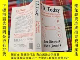 二手書博民逛書店TA罕見Today:A New Introduction to Transactional AnalysisY