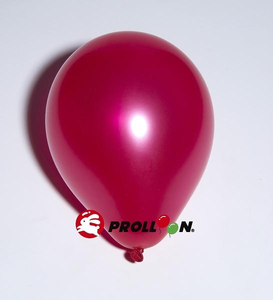 【大倫氣球】10吋珍珠色 圓形氣球-02-玫瑰紅-METALLIC & PEARL BALLOONS派對 佈置 台灣生產製造 安全玩具