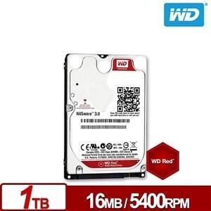 【綠蔭-免運】WD10JFCX 紅標 1TB 2.5吋NAS專用硬碟