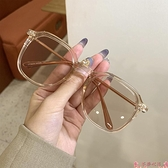 墨鏡新款茶色ins墨鏡女韓版潮復古風網紅小框抖音眼鏡小臉少女太陽鏡 芊墨 上新