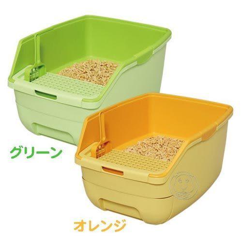 【培菓平價寵物網】IRIS《樂淘淘》貓便盆-無蓋RCT-530 (2款顏色)