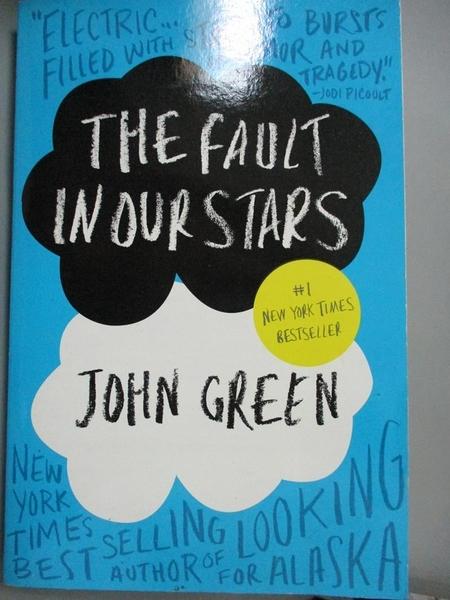 【書寶二手書T9/原文小說_GTB】The Fault in Our Stars_John Green