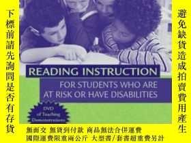 二手書博民逛書店Reading罕見Instruction For Students Who Are At Risk Or Have