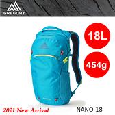 【速捷戶外】美國GREGORY 111498 Nano 18L多功能休閒背包(卡呂普索綠) 運動通勤背包,登山背包