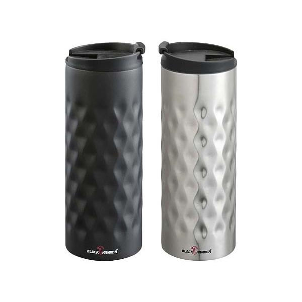 BLACK HAMMER 雙層菱形紋保溫杯(380ml)1入 顏色可選【小三美日】