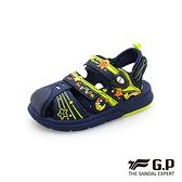 G.P(童)可拆式兩用護趾包頭涼鞋 童鞋-藍綠(另有粉)