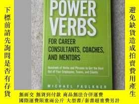 二手書博民逛書店Power罕見Verbs for Career Consulta