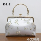 古風小清新手提包女中國風斜挎搭配穿漢服的小包包復古繡花旗袍包 蘿莉新品