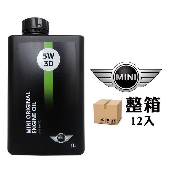 【南紡購物中心】MINI ORIGINAL ENGINE OIL 5W30 全合成機油 原廠機油(整箱12入)