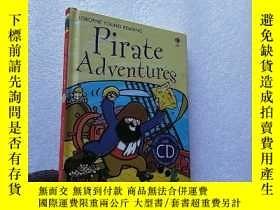 二手書博民逛書店Pirate罕見Adventures 32開 精裝【含光盤一張