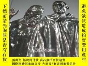 二手書博民逛書店2手英文罕見Rodin s Burghers of Calais