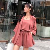 超殺29折 韓系寬鬆休閒簡約時尚套裝長袖褲裝