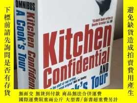 二手書博民逛書店Anthony罕見Bourdain: Kitchen Confidential , A Cook s Tour