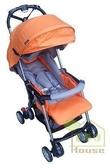 [家事達] Mother's Love  輕量輕便雙向秒縮嬰兒手推車5.6KG-橘色~可單手收合   特價