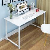 新款創意電腦桌台式桌家用辦公桌寫字台簡約書桌簡易筆記本桌子jy 萬聖節滿千八五折搶購