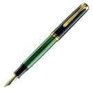 Pelikan百利金M 600-綠桿14k鋼筆
