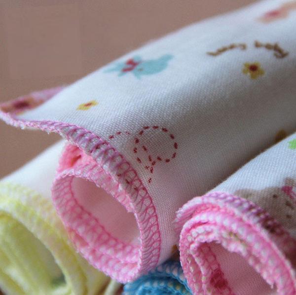 30x30m全棉高密度4層紗布手帕口水巾 【隨機出貨】【F1195】孕味十足 孕婦裝