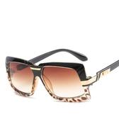 歐美大框圓臉太陽鏡 時尚墨鏡 邊框太陽眼鏡【五巷六號】y166