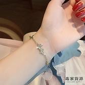 氣質蝴蝶手鏈女設計手鐲簡約冷淡風手飾【毒家貨源】