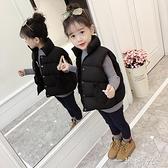 女童馬甲2020韓版新款秋冬季加厚外穿背心男寶寶羽絨棉服兒童外套 聖誕節免運