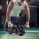 店長推薦▶三輪腹肌輪健腹輪男士滾輪健身輪健身器腹健肌輪捲腹機滑輪收腹輪