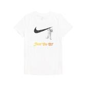 Nike 短袖T恤 NSW Swoosh Tee 白 黑 女款 短T 貓咪 運動休閒 【ACS】 DA2481-100
