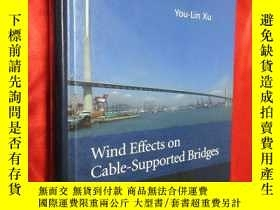 二手書博民逛書店Wind罕見Effects on Cable-Supported