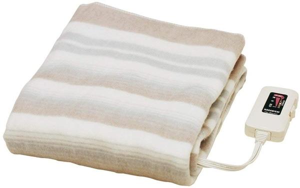 日本製【椙山紡織NAKAGISHI】單人電熱毯 140×80cm NA-023S