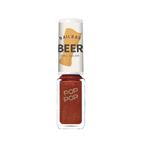 POP POP 指甲油4.5mL#琥珀黑啤【寶雅】