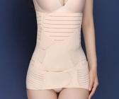 束腹帶束腰帶 產後保養美體塑身衣 三件套產婦順產剖腹產通用分碼收腹帶 腰夾《小師妹》yf1285