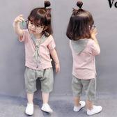 女童夏裝0嬰兒童裝1衣服2短袖女寶寶3夏季