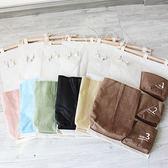 ◄ 生活家精品 ►【P284】多功能簡約4個掛袋 收納袋 懸掛 家具 置物 帆布 壁掛式 襪子 包包