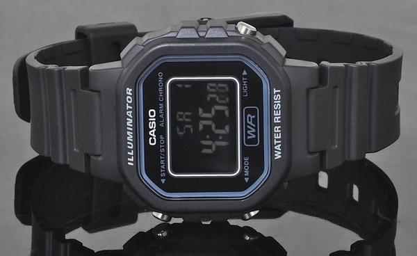 【CASIO宏崑時計】CASIO卡西歐復古電子錶 LA-20WH-1B 生活防水  台灣卡西歐保固一年