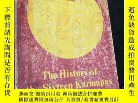 二手書博民逛書店the罕見History of the Sixteen Karm