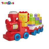 玩具反斗城 費雪可愛小獅子積木火車
