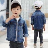 男童牛仔外套 2019新款春洋氣韓版兒童上衣春秋男孩中大童 BF20976『寶貝兒童裝』