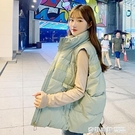 羽絨棉馬甲女短款外穿2020秋冬新款韓版馬夾學生背心加厚棉服外套 奇妙商鋪